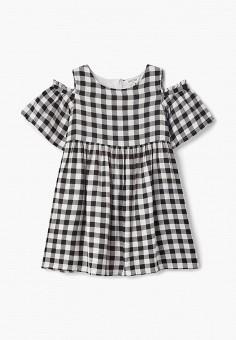 Платье, Outfit Kids, цвет  черный. Артикул  OU003EGCYYW6. Девочкам   Одежда 65b37b0e090