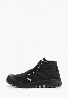 df1ba4d0 Кеды, Palladium, цвет: черный. Артикул: PA307AMEZXS8. Обувь / Кроссовки и