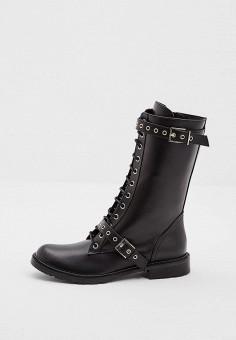 Полусапоги, Patrizia Pepe, цвет: черный. Артикул: PA748AWCEHC1. Обувь