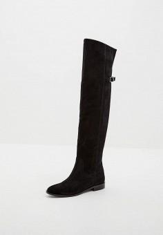 Ботфорты, Patrizia Pepe, цвет: черный. Артикул: PA748AWCEHC6. Обувь