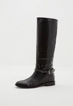 Сапоги, Patrizia Pepe, цвет: черный. Артикул: PA748AWCEHC8. Обувь