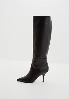 Сапоги, Patrizia Pepe, цвет: черный. Артикул: PA748AWCEHD0. Обувь
