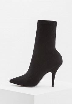 Ботильоны, Patrizia Pepe, цвет: черный. Артикул: PA748AWCEHD5. Обувь