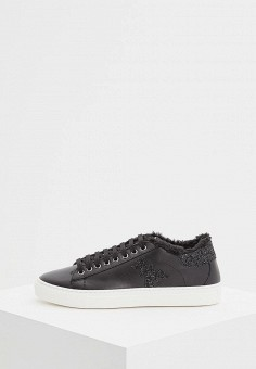Кеды, Patrizia Pepe, цвет: черный. Артикул: PA748AWCEHD6. Обувь