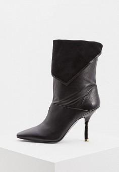Полусапоги, Patrizia Pepe, цвет: черный. Артикул: PA748AWCEHE1. Обувь