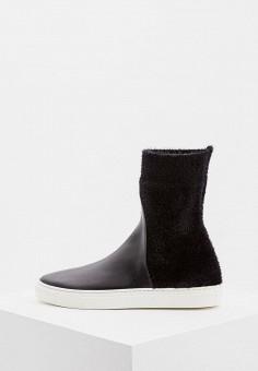 Слипоны, Patrizia Pepe, цвет: черный. Артикул: PA748AWCEHE3. Обувь