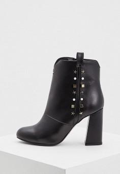 Ботильоны, Patrizia Pepe, цвет: черный. Артикул: PA748AWCEHE4. Обувь