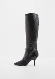 Сапоги, Patrizia Pepe, цвет: черный. Артикул: PA748AWCEHE6. Обувь