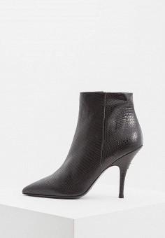 Ботильоны, Patrizia Pepe, цвет: черный. Артикул: PA748AWCEHE7. Обувь