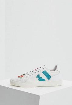 Кеды, Patrizia Pepe, цвет: белый. Артикул: PA748AWYLI91. Обувь