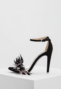 Босоножки, Patrizia Pepe, цвет: черный. Артикул: PA748AWYLJ00. Обувь