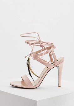 Босоножки, Patrizia Pepe, цвет: розовый. Артикул: PA748AWYLJ01. Обувь
