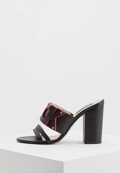 Сабо, Patrizia Pepe, цвет: черный. Артикул: PA748AWYLJ02. Обувь