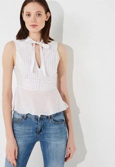 ec0844e224f7 Блуза, Patrizia Pepe, цвет  белый. Артикул  PA748EWYLL60. Premium   Одежда