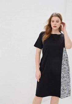 f3fd2fc5b9f1fbd Платье, Marina Sport x Marina Rinaldi, цвет: черный. Артикул: PE025EWEEQA4.
