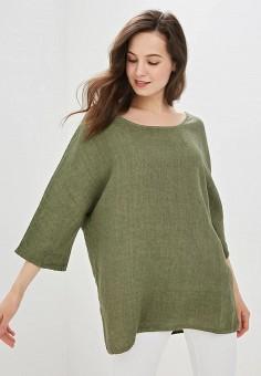 710f0f2869df87d Блуза, Perfect J, цвет: хаки. Артикул: PE033EWEVFE1. Одежда / Блузы