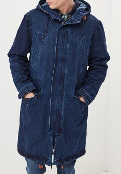 Парка, Pepe Jeans, цвет  синий. Артикул  PE299EMDHGJ2. Одежда   Верхняя f9a0a902d69