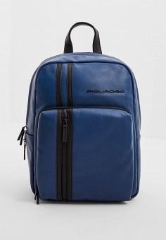 bc29167e7155 Рюкзак, Piquadro, цвет: синий. Артикул: PI016BMDGNO4. Premium / Аксессуары /