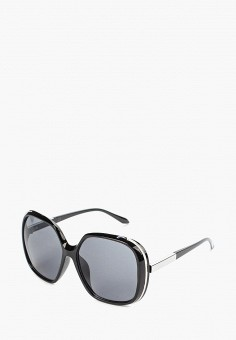 51f5fb66c3dc Очки солнцезащитные, Piazza Italia, цвет  черный. Артикул  PI022DWBHCK1.  Аксессуары