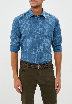 Рубашка, Piazza Italia, цвет  голубой. Артикул  PI022EMCUXE7. Одежда    Рубашки f4ad61c2626