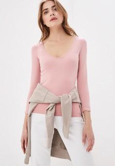 7c65ff418 Лонгслив, Piazza Italia, цвет: розовый. Артикул: PI022EWFCYF0. Одежда