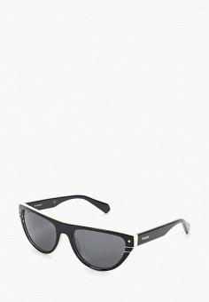 466a6bef97b5e Очки солнцезащитные, Polaroid, цвет: черный. Артикул: PO003DWFWUX9.  Аксессуары / Очки