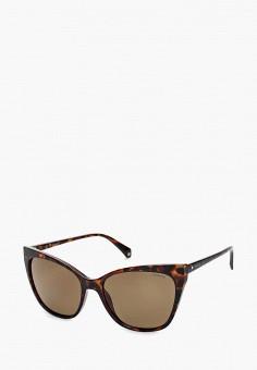 4743b5324b53 Очки солнцезащитные, Polaroid, цвет  коричневый. Артикул  PO003DWXWE36.  Аксессуары   Очки