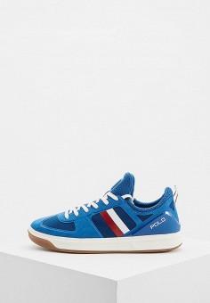e1ebfb7db30b Кроссовки, Polo Ralph Lauren, цвет  синий. Артикул  PO006AMBXED5. Обувь