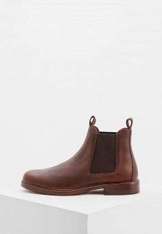 Ботинки, Polo Ralph Lauren, цвет  коричневый. Артикул  PO006AMBXEE3. Обувь   d899df38911