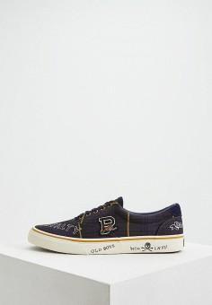 4afc1d51cb73 Кеды, Polo Ralph Lauren, цвет: синий. Артикул: PO006AMEFNW5. Premium /