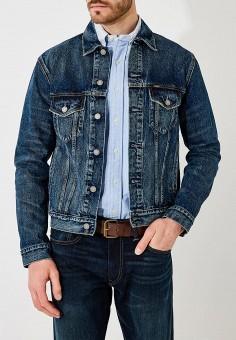469295a2 Куртка джинсовая, Polo Ralph Lauren, цвет: синий. Артикул: PO006EMYYY84.