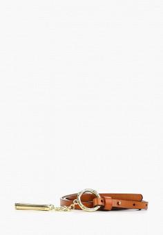 24cc45d16dd3 Пояс, Pur Pur, цвет: коричневый. Артикул: PU007DWFCBG5. Аксессуары / Ремни