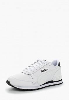 Кроссовки, PUMA, цвет  белый. Артикул  PU053AUAMWX5. Обувь   Кроссовки и 13faf398e34