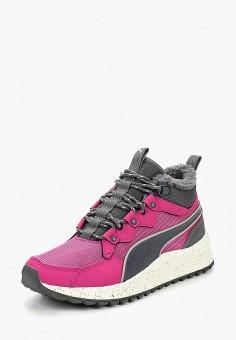 Кроссовки, PUMA, цвет  розовый. Артикул  PU053AWDFOJ1. Обувь   Кроссовки и 27445282213