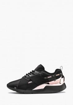 69f9ea5d76ad6 Кроссовки, PUMA, цвет: черный. Артикул: PU053AWFRMQ6. Обувь