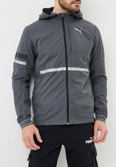 eb96d7104314 Ветровка, PUMA, цвет  серый. Артикул  PU053EMCJJK2. Одежда   Верхняя одежда