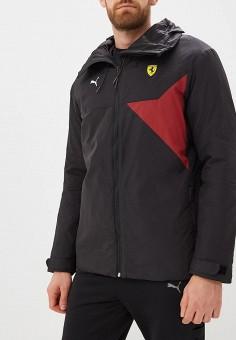 30c702df079f Куртка утепленная, PUMA, цвет  черный. Артикул  PU053EMCJJK7. Одежда