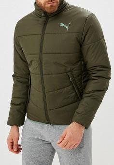 1b22f01dbff4 Куртка утепленная, PUMA, цвет  хаки. Артикул  PU053EMCJJM0. Одежда   Верхняя