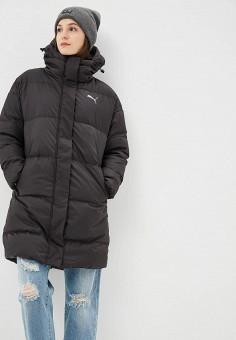 ac634a3804df Пуховик, PUMA, цвет  черный. Артикул  PU053EWCJME4. Одежда   Верхняя одежда