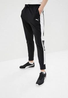 Брюки спортивные, PUMA, цвет  черный. Артикул  PU053EWCJMS4. Одежда   Брюки 9be366a3713