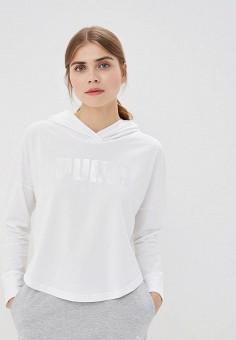 9158af17 Худи, PUMA, цвет: белый. Артикул: PU053EWDZPT8. Одежда / Толстовки и