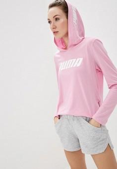 21d8f925 Худи, PUMA, цвет: розовый. Артикул: PU053EWDZSA6. Одежда / Толстовки и