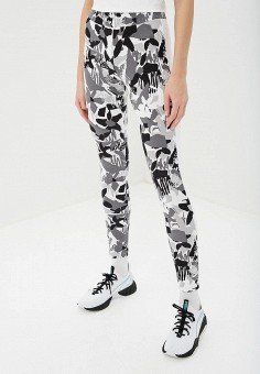 1d55bdbb Леггинсы, PUMA, цвет: серый. Артикул: PU053EWDZSM4. Одежда / Брюки /