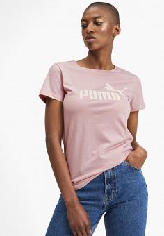 91c558a3647f5 Футболка спортивная, PUMA, цвет: розовый. Артикул: PU053EWFRKB4. Одежда /  Футболки