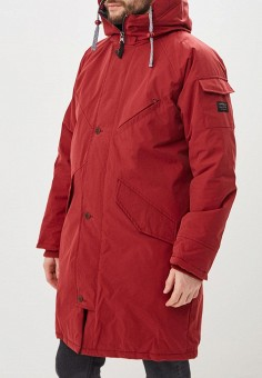 ff243680d02e Парка, Quiksilver, цвет  бордовый. Артикул  QU192EMCFGI6. Одежда   Верхняя  одежда