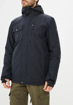 Куртка сноубордическая, Quiksilver, цвет  черный. Артикул  QU192EMCFGQ9.  Спорт   Горные 4eae0fc1307