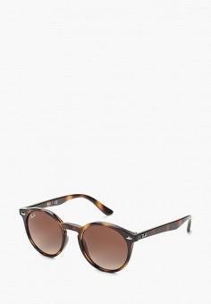 Очки солнцезащитные, Ray-Ban®, цвет  коричневый. Артикул  RA014DGBHAM1. f200eae1b42