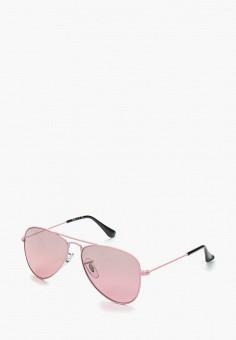 2d95222f Очки солнцезащитные, Ray-Ban®, цвет: розовый. Артикул: RA014DGBHAM9.