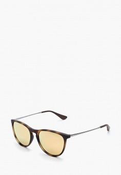 Очки солнцезащитные, Ray-Ban®, цвет  коричневый. Артикул  RA014DKBHAM4. 5506b99b12