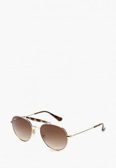 Очки солнцезащитные, Ray-Ban®, цвет  золотой. Артикул  RA014DKBHAN1. 013c24418e